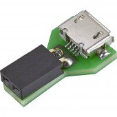 Adapterlemez 5 V Conrad Components Mikro-USB-Adapter für LED-Streifen 1485468