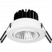 Barthelme 62403330 Beépíthető lámpa EEK: LED 12.50 W Hidegfehér, Neutrális fehér, Melegfehér Fehér