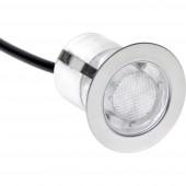 Brilliant Cosa 30 G03093/73 LED-es beépíthető lámpa 10 részes készlet EEK: LED (A++ - E) 1.5 W Kék Nemesacél