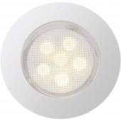 Brilliant Cosa G03094/75 LED-es beépíthető lámpa 10 részes készlet EEK: LED (A++ - E) 4.2 W Melegfehér Nemesacél