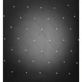 Fényháló Kültérre 24 V 80 LED Melegfehér (H x Sz) 200 cm x 200 cm Konstsmide