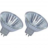 OSRAM Eco halogén EEK: B (A++ - E) GU5.3 45 mm 12 V 25 W Reflektor Dimmelhető 2 db