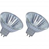 OSRAM Eco halogén EEK: B (A++ - E) GU5.3 45 mm 12 V 35 W Reflektor Dimmelhető 2 db
