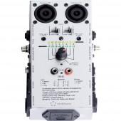 XLR, RCA, Speakon, Jack kábel, hangkábel teszter Renkforce DB-4C
