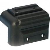Hangfal sarok, műanyag sarokvédő, fekete színű 4072