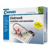 Elektronikai kísérletező készlet 14 éves kortól, Conrad Basic 3964