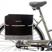 Dupla kerékpár táska  szürke/fekete  Dunlop 41740