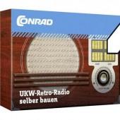 Retro rádió építőkészlet FM rádió Tru Components 10191