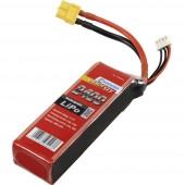 Akkucsomag, LiPo 11.1 V 2400 mAh 20 C Conrad energy stick