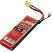 Akkucsomag, LiPo 11.1 V 3000 mAh 20 C Conrad energy stick