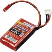 Akkucsomag, LiPo 11.1 V 500 mAh 25 C Conrad energy stick BEC