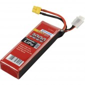 Akkucsomag, LiPo 14.8 V 3000 mAh 20 C Conrad energy stick
