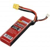 Akkucsomag, LiPo 7.4 V 2400 mAh 20 C Conrad energy stick
