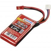 Akkucsomag, LiPo 7.4 V 350 mAh 25 C Conrad energy stick BEC