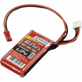 Akkucsomag, LiPo 7.4 V 500 mAh 25 C Conrad energy stick BEC