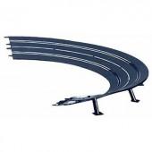 Dönthető kanyar útszakasz 2/30° 6db, Carrera 20020575 Evolution, DIGITAL 132, DIGITAL 124
