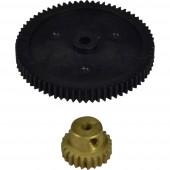 Reely 10472+10323 Fogaskerék 70 foggal + kis fogaskerék a motoron