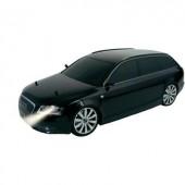 1:10 karosszéria Audi RS6 fekete, lámpakészlettel