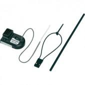 2,4 GHz-es 3 csatornás vevő JR / Futaba dugaszoló rendszerrel, Modelcraft