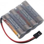Conrad Energy 4.8V / 2300mAh Side bySide kivitelű JR csatlakozóval ellátott vevő akkupack