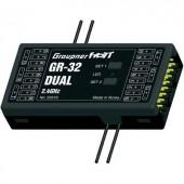 16 csatornás vevő Graupner GR-16 2,4 GHz Dugaszoló rendszer JR