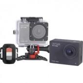 Full HD akciókamera WiFi-vel, vízálló házzal, többféle tartóval, 16 Megapixel-es Denver ACT-8030W