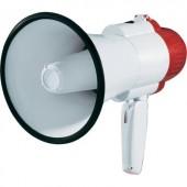 Megafon, kézi hangosbeszélő, sziréna hangmodullal, max.15W XB-7S