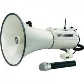 Megafon vezeték nélküli kézi mikrofonnal, Monacor TXM-48