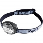 LED-es fejlámpa, elemes, 4 LED 22 lm 18 m 38 óra 79 g, Varta X4 17631101421