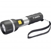 LED Kézilámpa Varta Day Light 2 AA Elemekről üzemeltetett 25 lm 139 g Fekete/ezüst