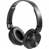 Vivanco MOOOVE AIR BLACK Bluetooth® HiFi Fejhallgató On Ear Összehajtható, Headset, Fülkengyel Fekete