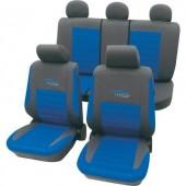 Autó üléshuzat készlet, 11 részes kék, cartrend 60120
