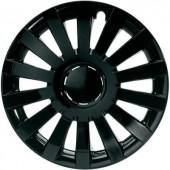 Autó dísztárcsa készlet 4 db, fekete, Wind R15