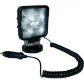 EAL, LED-es munkalámpa mágneses lábbal, 12/24 V, (Sz x Ma x Mé) 110 x 110 x 41 mm