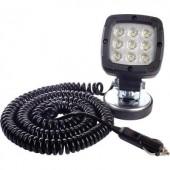 LED-es munkalámpa, fényszóró 15 W 12/24/36/48 V 100 x 165 x 75 mm 1300 lm, SecoRüt