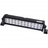 Munkafényszóró LED munka fényszóró 72 W 12 V, 24 V (Sz x Ma x Mé) 405 x 115 x 85 mm 4600 lm