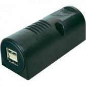 Felszerelhető USB töltő, két USB A aljzattal 12-24V/5V max. 5A ProCar 67323501