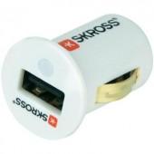 Szivargyújtó USB töltő adapter 12V/5V (max.) 2.1A Skross Midget 2.900608 MCC