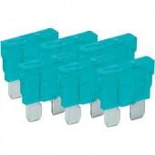 Wentronic Standard lapos biztosítékok, 6 db-os csomag 15 A