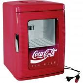 Coca Cola mini hűtőszekrény, 23 l, 12/230V, A+, Ezetil MF25
