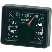 HR Beltéri hőmérő, szögletes