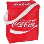 Hűtőtáska vállra akasztható 14,9L-es 180x250x340mm Ezetil Coca-Cola Classic 14
