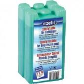 Jégakku készlet, 2 x 430 ml, szürke , 85x70x170 mm, Ezetil
