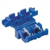 Gyorscsatlakozós mini lapos biztosíték tartó, 0,8-2 mm², 25529