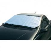 Szélvédő takaró fólia, autóüveg napfényvédő, 150 mm x 80 mm HP Autozubehör 18240