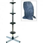 Keréktartó abroncsfa  keréktartó állvány  abroncsvédő huzattal  max. 225 mm-es kerékszélességig 82.110