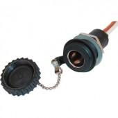 Beépíthető szivargyújtó aljzat záró fedéllel 12/24V max. 16 A ProCar 52005003