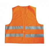 Láthatósági mellény, narancssárga fényvisszaverős mellény, EN 471