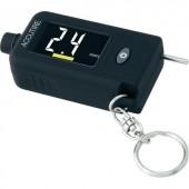 Gumiabroncs nyomás- és profilmélység mérő, mérési tartomány: 0,35 - 6,8 bar profilmélység: 0 - 15 mm, MS 49