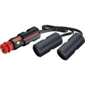 Szivargyújtó elosztó, 2 részes lengő aljzattal 12/24V max.16A ProCar 67889200